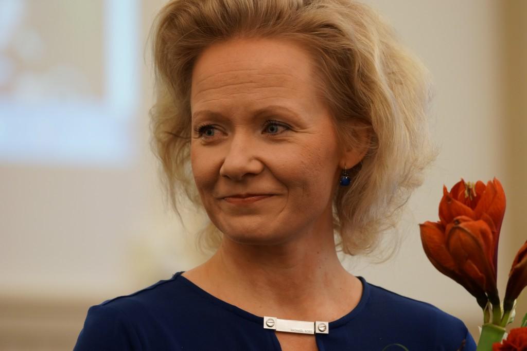 Vuoden 2013 musiikkilukiolainen Tampere-talon toimitusjohtaja Paulina Ahokas